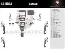 Fits Mazda 6 Sedan 2009-2013 With Auto Trans Large Premium Wood Dash Trim Kit