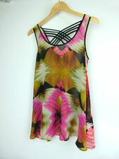 Sussan Geometric Sleeveless Tops for Women