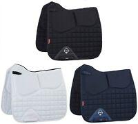 LeMieux ProSport Pro-Sorb Memory Foam DRESSAGE SQUARE Riser Black/Navy/White/Blu