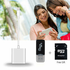light-ning to Memory Card Reader For iPad iPhone Andriod Trail Camera