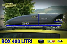 Box tetto Ford Ecosport baule auto portatutto nero universale chiavi per pacchi