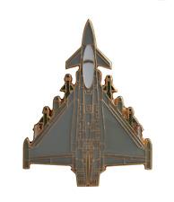 Eurofighter Typhoon Plan View Royal Air Force RAF Pin Badge