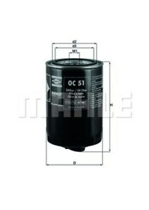 Ölfilter MAHLE OC 51 OF Anschraubfilter für AUDI VOLVO SEAT VW 909 293 ROVER T3