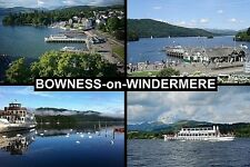 SOUVENIR FRIDGE MAGNET of BOWNESS-on-WINDERMERE CUMBRIA