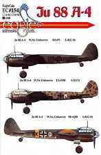 EagleCals Decals 1/48 German JUNKERS Ju-88A-4 WWII Bomber