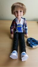 """MGA Best Friends Club BFC Ink C.J. 18"""" Jointed Boy Doll RARE!"""