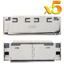 5 X PER SAMSUNG GALAXY TAB 2 Connettore di Ricarica USB Porta Blocco P3100 P3110 P1000