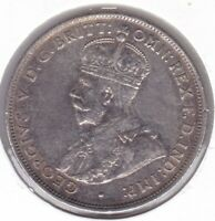 CB1469) Australia 1927 Florin, good EF. Original uncleaned coin