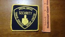 SPECIAL SERVICE TOWER SERVICES GROUP UNLIMITED   OBSOLETE PATCH BX 12 #18
