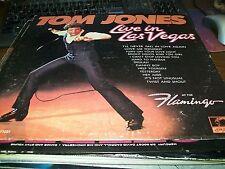 Tom Jones-Live In Las Vegas-LP-Parrot-PAS 71031-Vinyl Record-VG+
