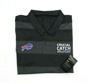 Nike men's Dri-FIT Buffalo Bills NFL Crucial Catch Polo Shirt size XL AR6786060