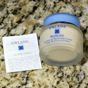 Orlane Paris Total Nutrition System Cream Dry/Delicate Skin Crème (New/NO Box)