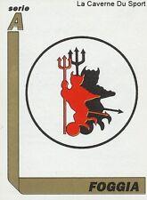 N°094 SCUDETTO LOGO BADGE # ITALIA US.FOGGIA STICKER TUTTO CALCIO 1995 SL