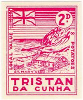 (I.B) Tristan da Cunha Postal : Local Post 2d (St Mary's)