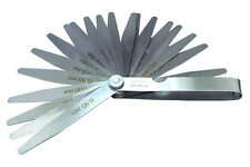 20 Blade Feeler Gauge Metric Points Spark Plug Measurement Mechanics Tool D8040