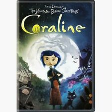 Coraline DVD - New and Unopened!