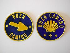 Camino de Santiago Way of St. James Buen Camino Pilgrim Cloth Patch Set