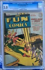 More Fun Comics #91 (1943) CGC 3.0 -- Green Arrow and Speedy cover and story