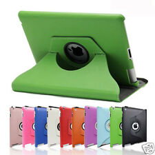 360 Rotating Pu Leather Smart Cover Case for Apple iPad 4 3 2