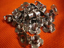 24 x Tuercas percusión M 8x11 Würth 1,2 mm acero galvanizado NUEVO FACTURA