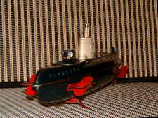 RARE, TIN, VINTAGE, B/O, SSN-571 NAUTILUS SUBMARINE BY MARUSAN PERFECTLY WORKING