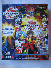 Bakugan Jigsaw Puzzle 300 Pieces Poster Size Poster Included BRAND NEW & SEALED