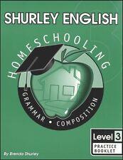 Shurley English Level 3 Practice Book - New