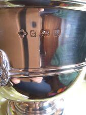 More details for sterling silver georgian rose bowl