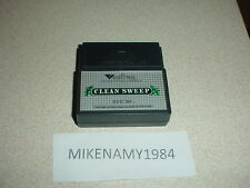CLEAN SWEEP game cartridge only VECTREX system Works see photo