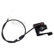 Thumb Throttle Accelerator + Cable 49cc 50cc 110cc 125cc ATV Quad Bike Buggy