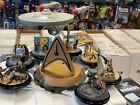Star Trek USS Enterprise NCC-1701 Hawthorne Village 2016 +  8 sets = 16 dioramas