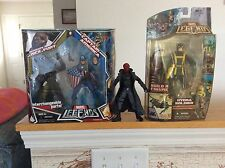 Marvel Legends Ultimate Captain America/Nick Fury with Red Skull & Hydra Soldier