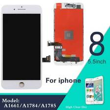 For IPHONE 8 Plus 5.5'' LCD Display Touch Screen Digitizer White Replacement UK
