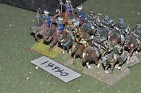25mm dark ages / hun - cavalry 12 cavalry - cav (14940)