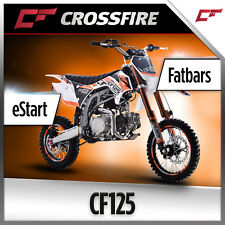 Crossfire CF125 Electric Start 125cc Dirt Bike, Pit Bike Off Road