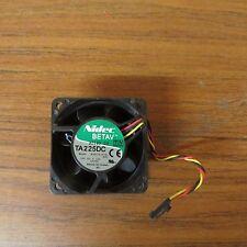 + 2X Nidec Beta V B34605-55 Ta225Dc 60mm 12Vdc 0.55A 2-Pin Fan