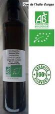 Huile d'argan Bio,Pure et fraîche PRESSION FÉVRIER 500 ml pour usage alimentaire