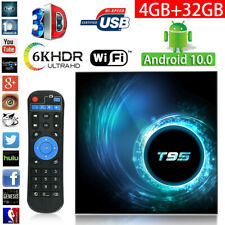2020 T95 H616 Android 10.0 TV Box 4GB+32GB Quad Core KD HD Media Player WIFI