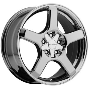 "Milanni 464 VK-1 18x8 5x4.5""/5x120 +12mm PVD Wheel Rim 18"" Inch"