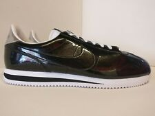 Nike Cortez Basic Premium QS Uk 13 Black White Metallic Silver 819721001