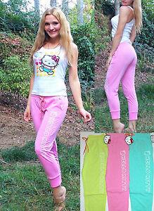 "NWT Sanrio Hello Kitty ""Varsity Brights"" soft Jogger Pants S,M,L"