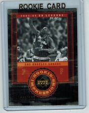 2003-04 UD LEGENDS BRIAN COOK #108 ROOKIE THROWBACK 095/100 ILLINOIS