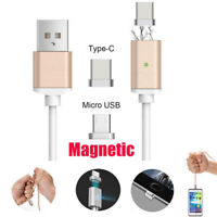 Magnetic Adapter USBC Type C Charger USB Cable For Android Pad Samsung Galaxy S8