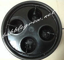 BUBBLE GROW BUCKET 4X DRIP HYDROPONIC SYSTEM WATER PUMP DWC NTF GROWING KIT