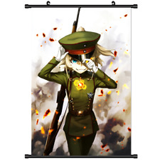 Hot Anime Tanya Degurechaff Youjo Senki Wall Poster Scroll Cosplay 2904