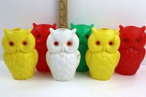 VTG Wise Owl TIKI Blow Mold for STRING LIGHTS Yard Decor Lantern Patio Party RV
