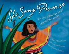 She Sang Promise: The Story of Betty Mae Jumper, Seminole Tribal Leade-ExLibrary