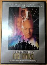 Star Trek Vlll: First Contact Special Collector's Edition. (DVD, 2001) R1.