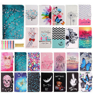 "New Folio Color Painted Leather Case Cover For Samsung Galaxy Tab E 8.0"" SM-T377"