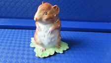 Beswick Beatrix potter Timmy willie BP2A gold oval stamp